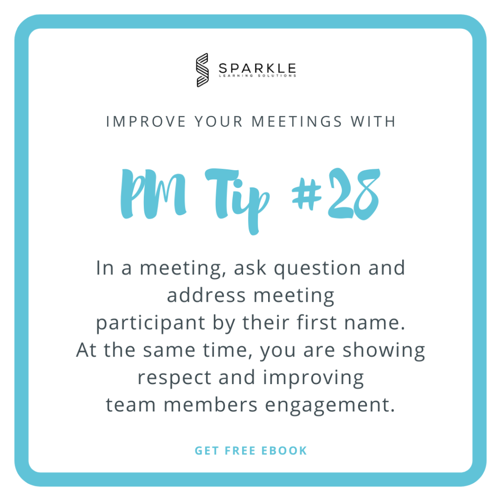 The most effective way to accomplish that is to ask them questions directly by using their first names to address them and keep their attention.
